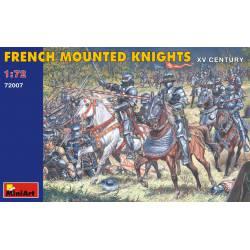 Caballeros franceses a caballo.