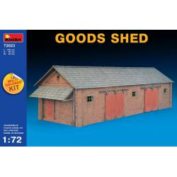Goods shed.