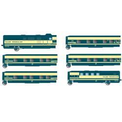 Trenhotel Talgo, RENFE. 6 coaches.