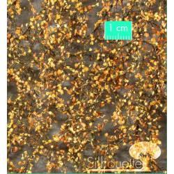 Hojas de abedul en otoño. SILHOUETTE 910-24S
