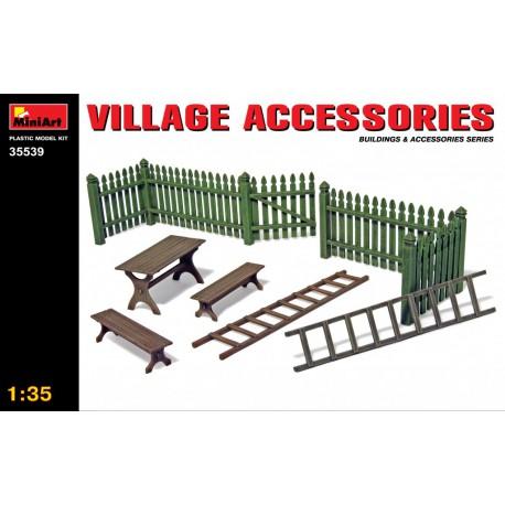Village accessories.