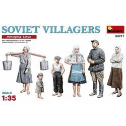 Campesinos soviéticos.