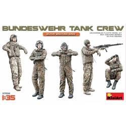 Carristas alemanes de la Bundeswehr.
