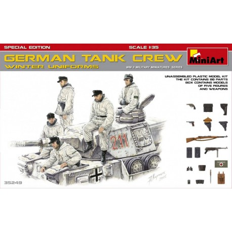 Bundeswehr tank crew.