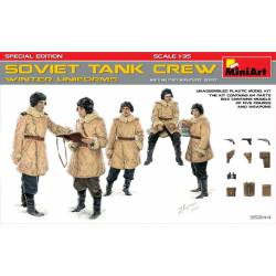 Soviet tank crew.