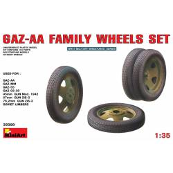 GAZ-AA family wheels set.
