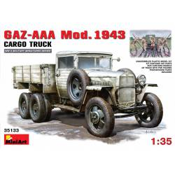 GAZ-AAA Mod. 1943. cargo truck.