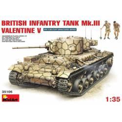 British Infantry Tank Mk.III Valentine Mk.V.