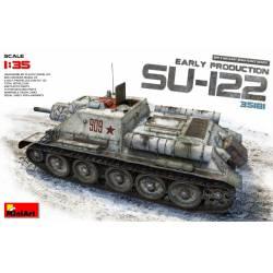 Autopropulsado soviético SU-122, producción inicial.