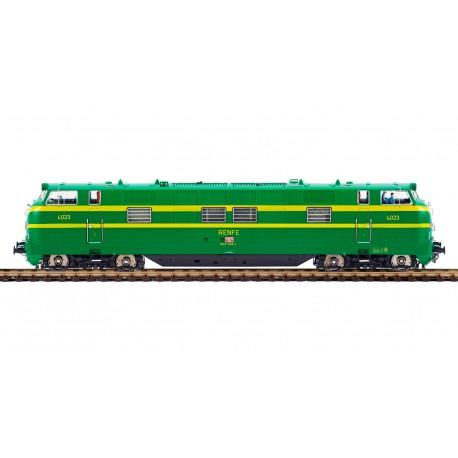 Diesel locomotive 340-023, RENFE.