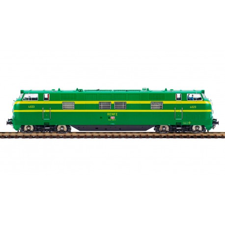 Locomotora diésel 340-023, RENFE.
