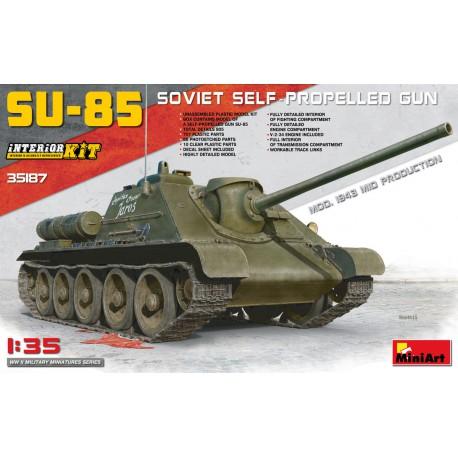 SU-85 Soviet SPG Mod.1943.