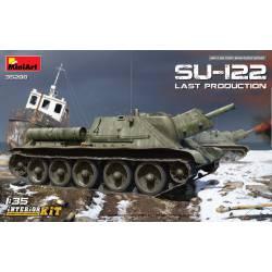 Autopropulsado soviético SU-122, producción media.