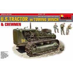 Tractor USA con polea.