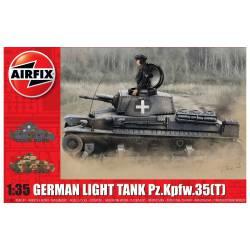 Tanque ligero alemán Pz.Kpfw.35(t).