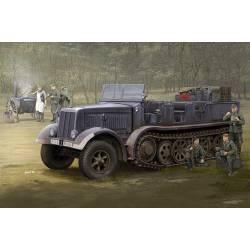 Sd.Kfz.8 (DB9), half-track artillery tractor.