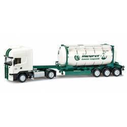 "Scania R TL swapcontainer semitrailer ""Lanfer""."