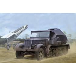 Sd.Kfz.7/3, half-track artillery tractor.