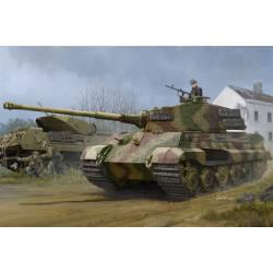 Sd.Kfz.182 King Tiger, torreta Henschel. Zimmerit.