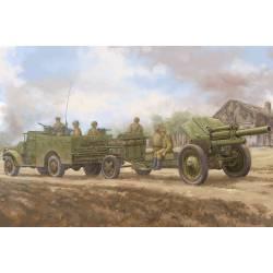M3A1 con cañón M-30 de 122 mm.
