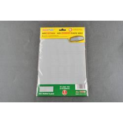 HIPS Zimmerit plastic sheet.
