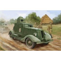 Soviet BA-20 armored car Mod. 1937.