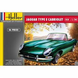 Jaguar type E Cabriolet.