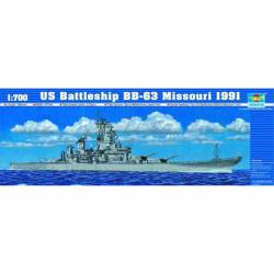 U.S Battleship BB-61 Iowa 1984.