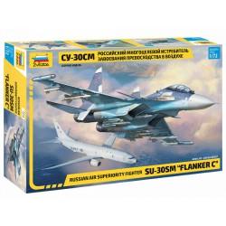 "Russian fighter SU-30SM ""Flanker C""."