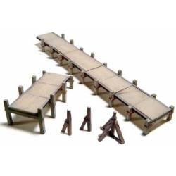 Plataforma para muelles.