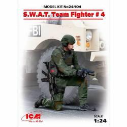 Miembro de las Fuerzas Especiales (S.W.A.T.).