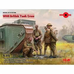 WWI British tank crew.