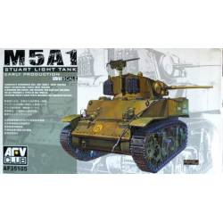 M5A1 Stuart Light Tank. Early.