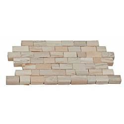 Piedra muro jaspeada (x3000).