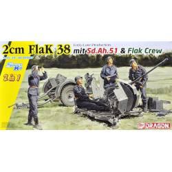 2 cm Flak 38, late production.