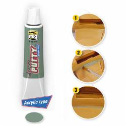 Arming Putty Acrylic type.
