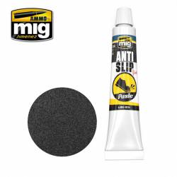 Anti Slip paste. Black color.
