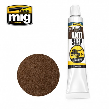Anti Slip paste. Brown color.