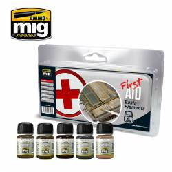 First aid basic pigments.