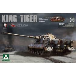 King Tiger Henschel turret ABT.505.