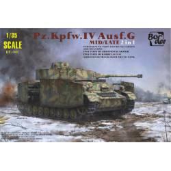 Pz. Kpfw. IV Ausf.G, versión media/final. BORDER MODEL