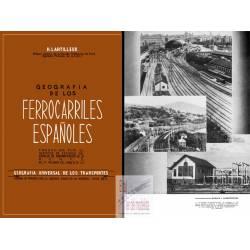 Geografía de los Ferrocarriles Españoles