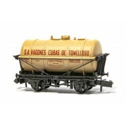 "Vagón ""S.A. Vagones Cubas de Tomelloso""."