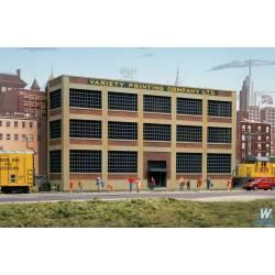Variety printing background building.
