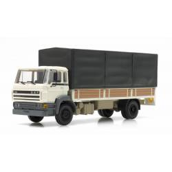 DAF 2100, canvas cover semitrailer.