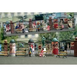 Advertising pillars. BUSCH 1135
