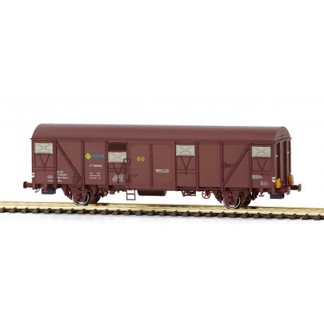 Wagon Jfvce 600645, RENFE. End lights.
