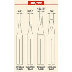 Punta plana 4,5 x 1,5 para soldador 65S. JBC T55D