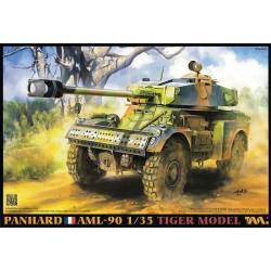 French light armoured car AML-90. TIGER MODEL.