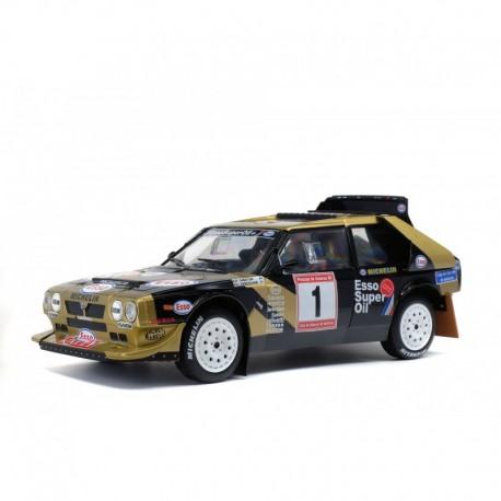 Lancia Delta S4. Rally de Asturias 1986.